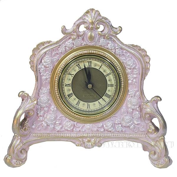 Композиция время (цвет розовый с золотом) L21W6.5H19см оптом