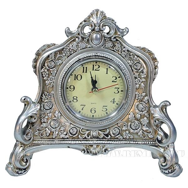 Композиция время (цвет серебро) L21W6.5H19см оптом