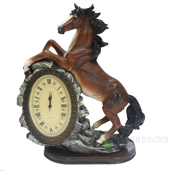 Композиция время Лошадь (акрил)L31W15H40см оптом