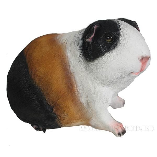 Фигура декоративная Морская свинка Тимоша L22W13,5H15,5см оптом