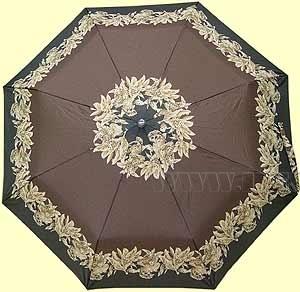Зонт 2320 (Коричневые цветы) оптом