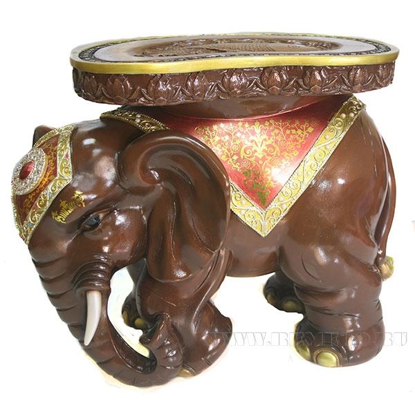Изделие декоративное Слон(красное дерево) L48W35H41см оптом