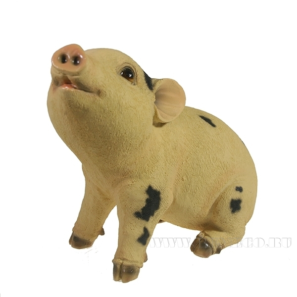 Фигура декоративная Свинка Нюша L23W11H18.5 оптом
