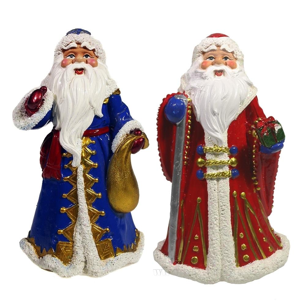 Фигура декоративная Дед Мороз , L7.5W6H12, 2в. оптом