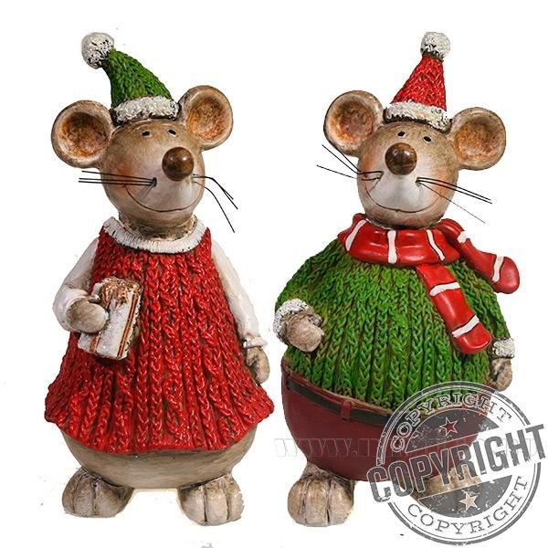 Фигура декоративная Мышонок , Мышка , L9W8H15, 2в. оптом