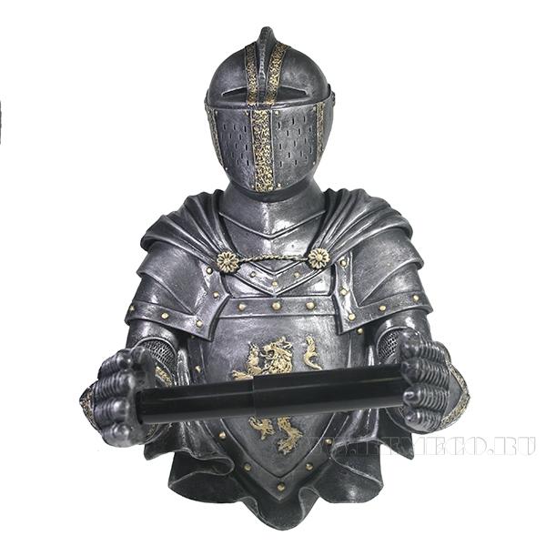 Изделие декоративное РыцарьL16W22H31см оптом