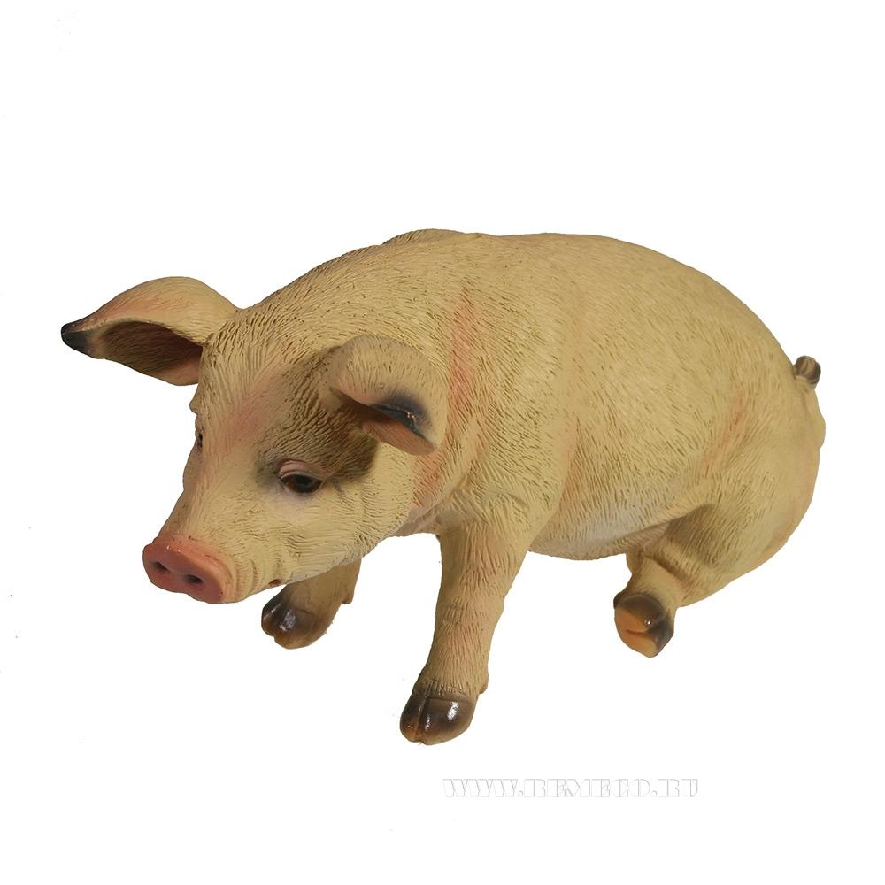 Копилка Свинка Брунгильда (светлая)L26.5W14.5H13 оптом