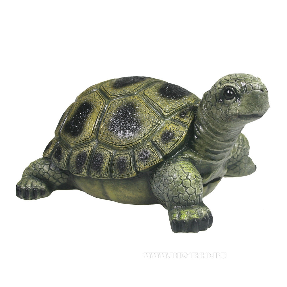 Фигура декоративная садовая Черепаха L21,5W17H11 оптом
