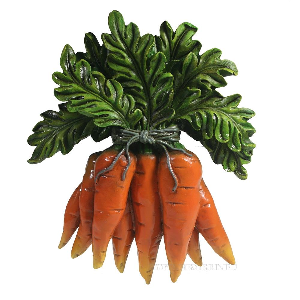 Изделие декоративное Панно Морковь L5W19H24см оптом