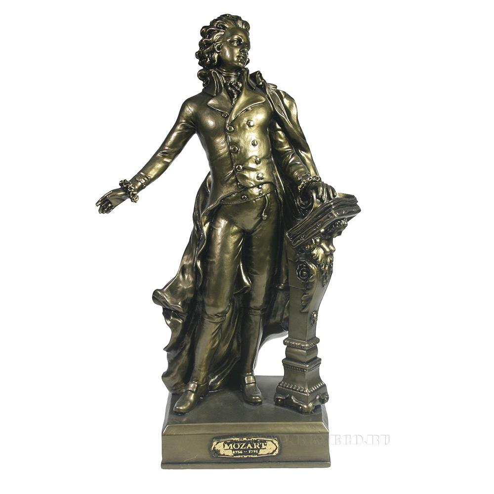 Изделие декоративное Моцарт (золото) L9,5W19H32 см оптом
