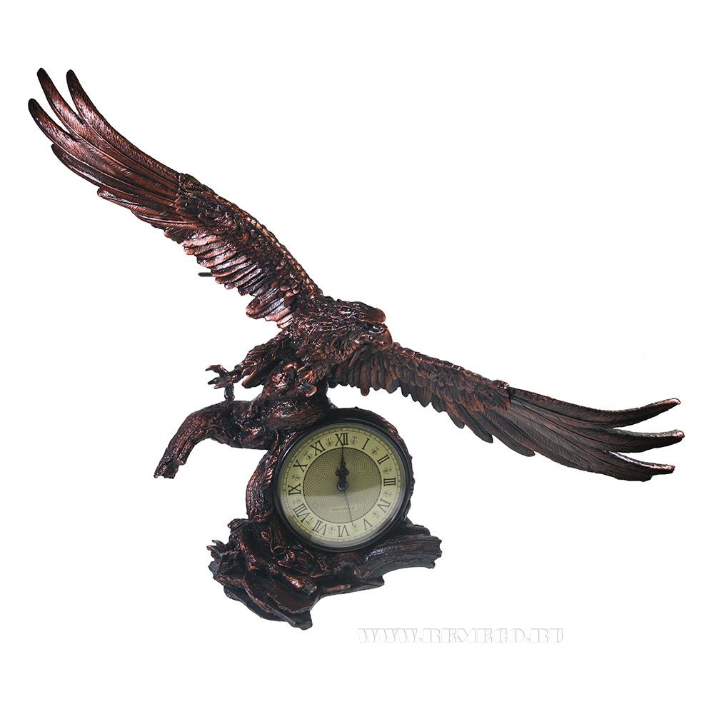 Композиция время Орел расправил крылья (цвет медь) L30W66.5H56 оптом