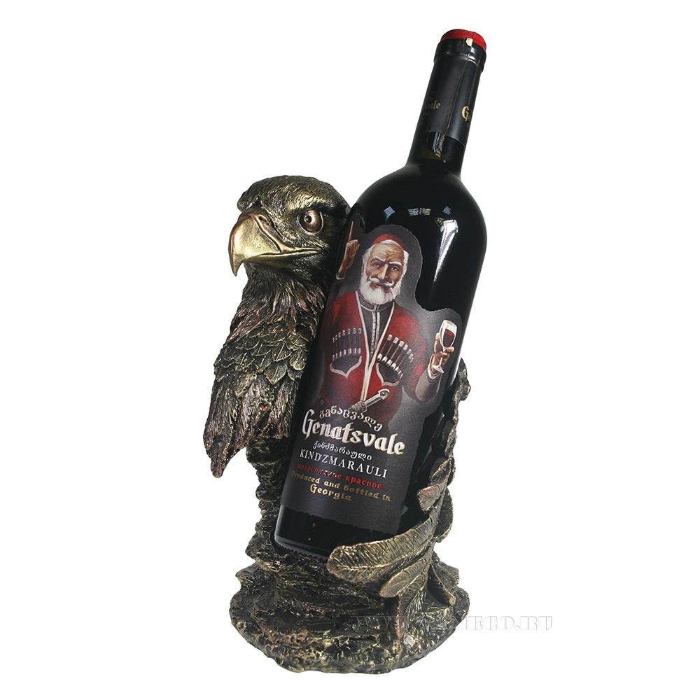 Подставка под бутылку Орел (бронза) L16,5W15H26 см оптом