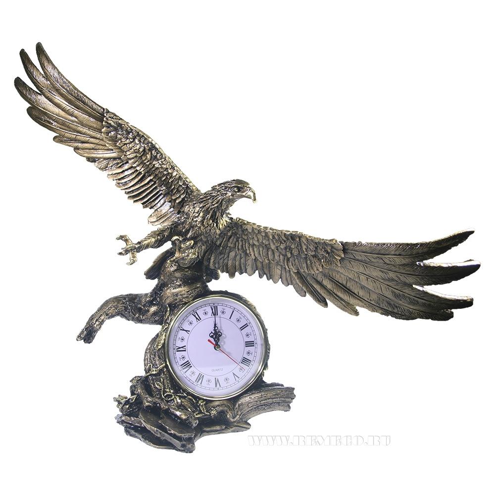 Композиция время Орел расправил крылья (золото) L30W66.5H56 оптом