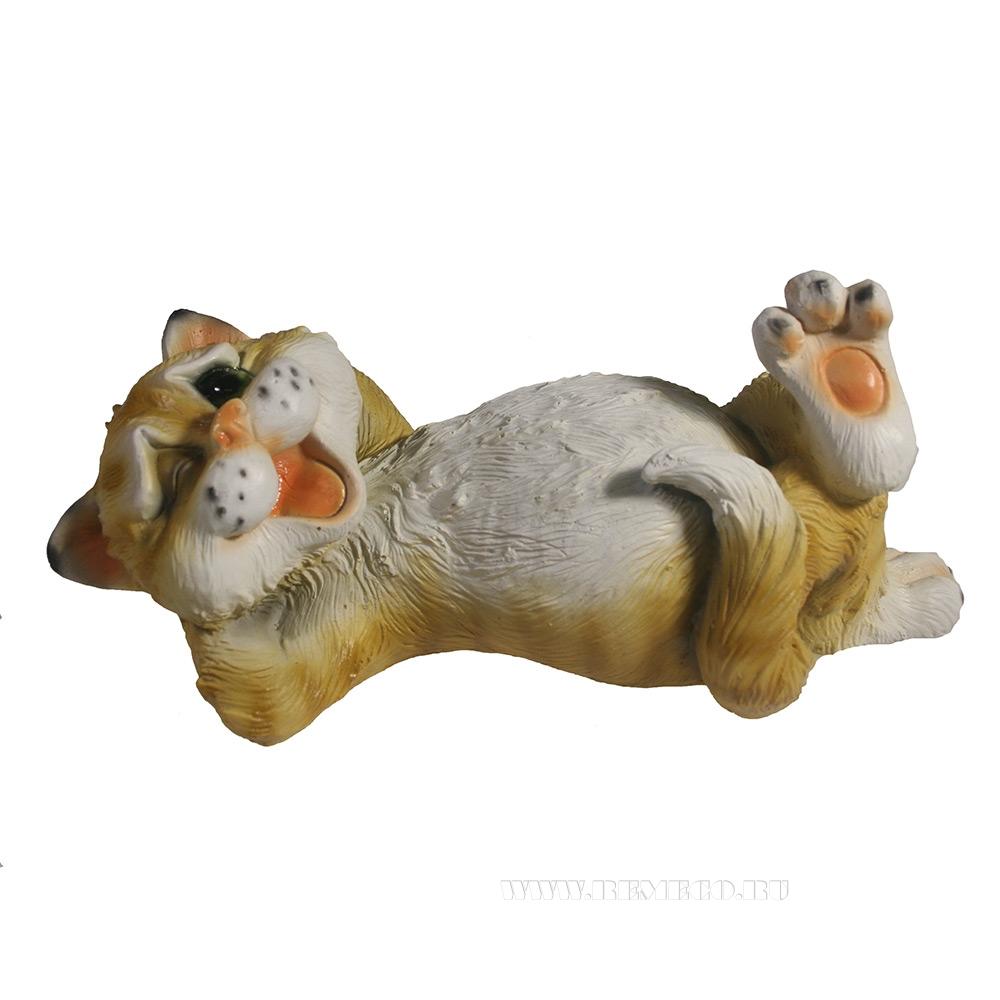 Фигура декоративная Ленивый Кот , L25 W12 H9 см оптом