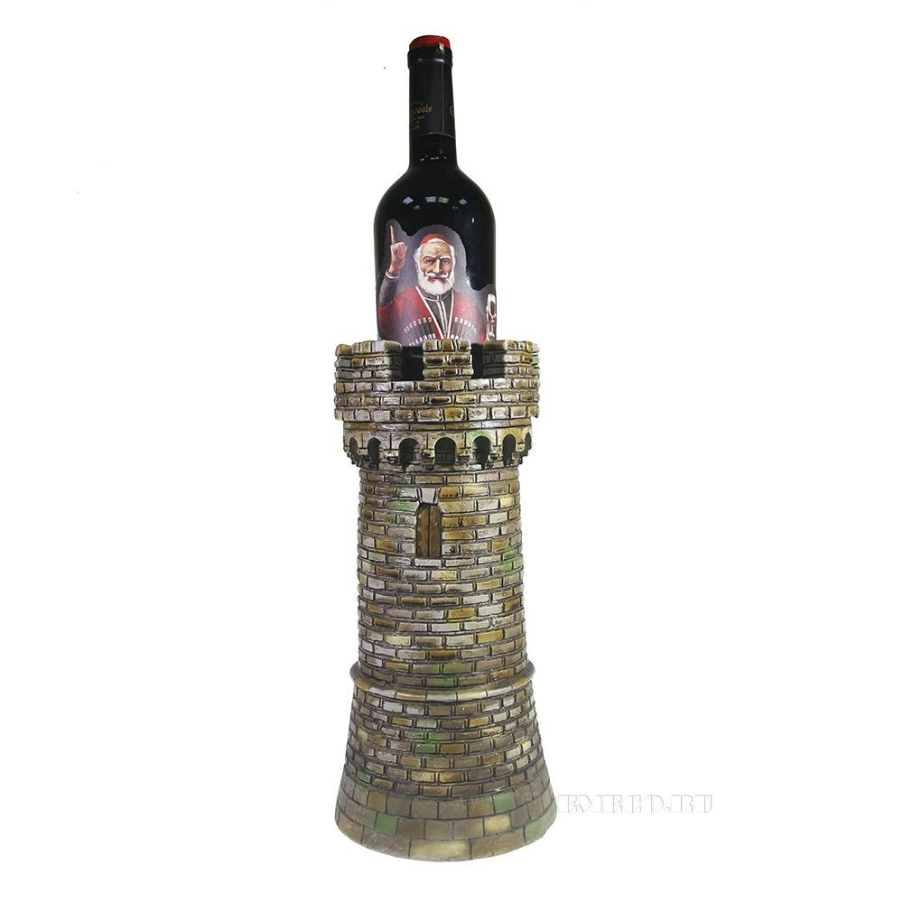 Подставка по бутылку Башня L15W15H32 оптом