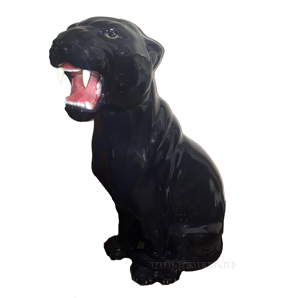 Фигура декоративная Пантера. L55W30H83 см оптом