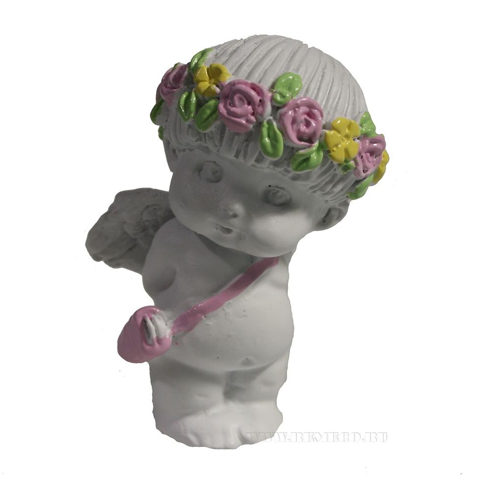 Изделие декоративное Застенчевый ангел (акрил) L3W3,5H5,5 оптом