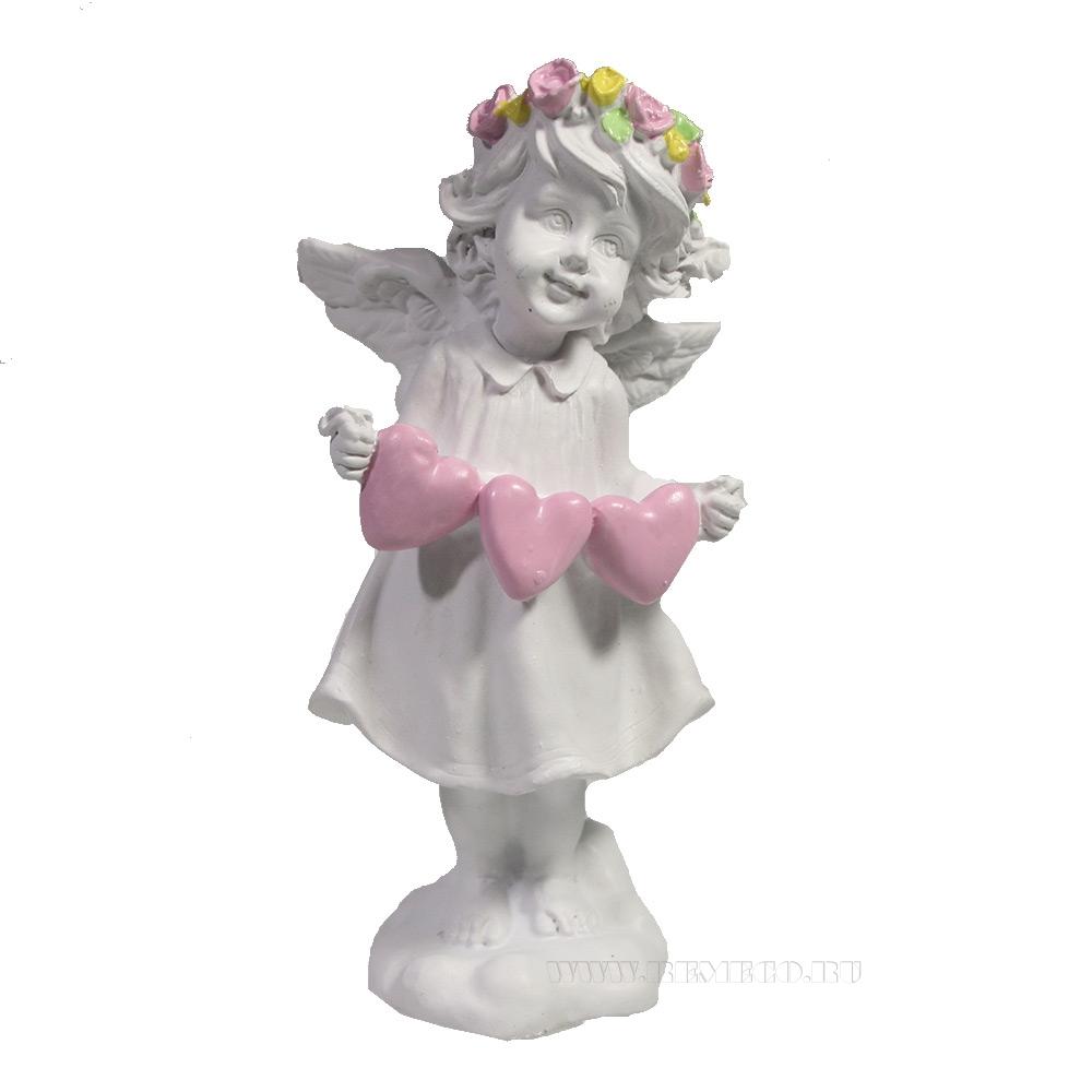 Фигура декоративная Ангел L5W7Н12 оптом