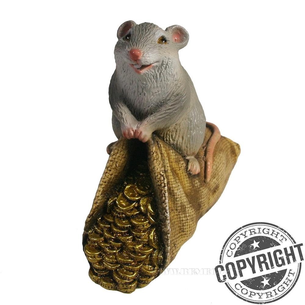 Фигурка декоративная Мышка Долли L10,5 W6 H11 см оптом