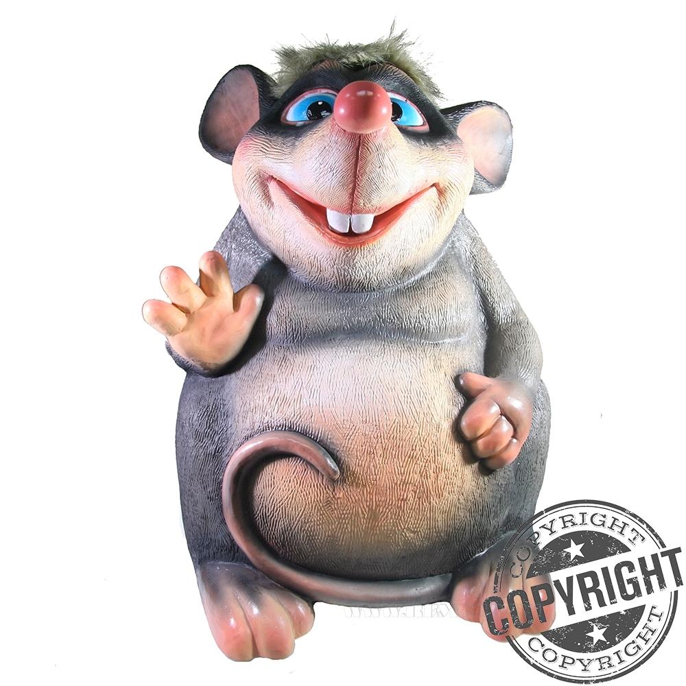 Копилка Мышь Багги L36 W36 H52 см оптом