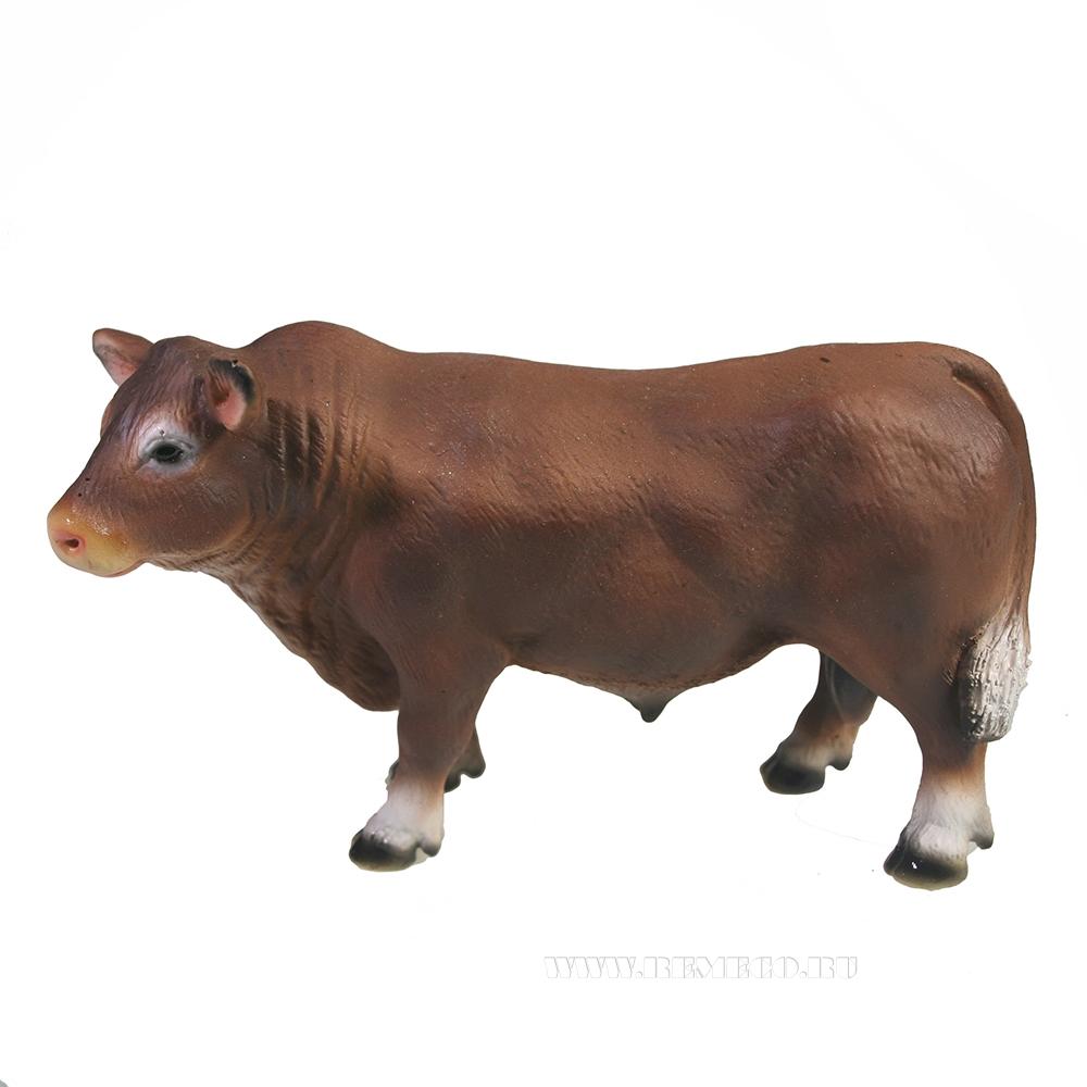 Фигура декоративная Ангус (коричневый) L12.5W4.5H8 см оптом
