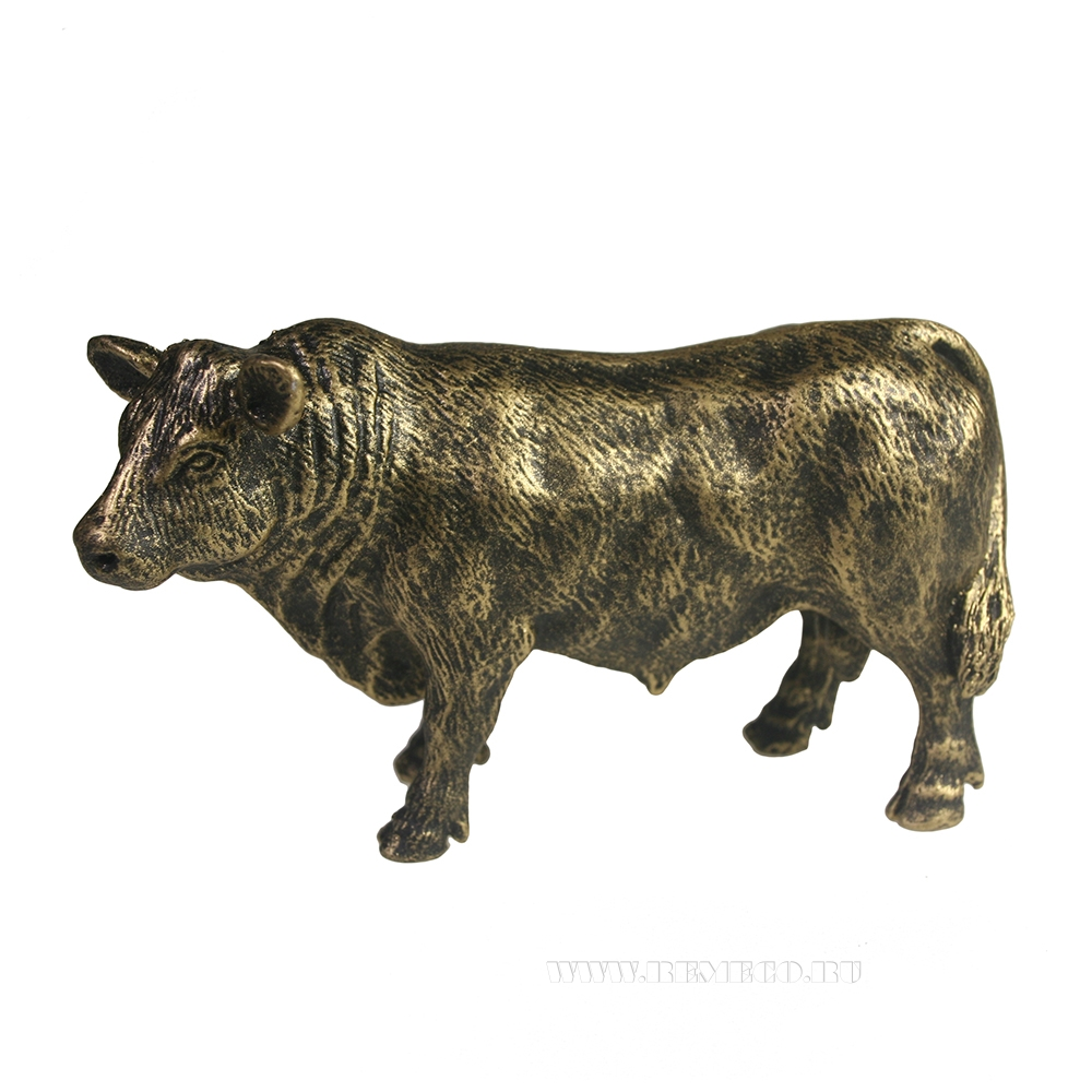 Фигура декоративная Ангус (бронза) L12.5W4.5H8 см оптом