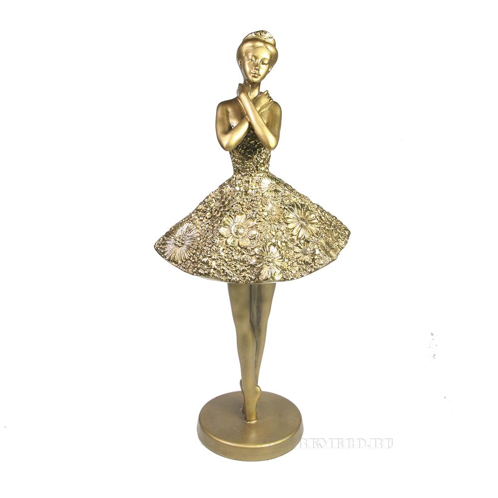 Фигура декоративная Балерина L13W17H32 оптом