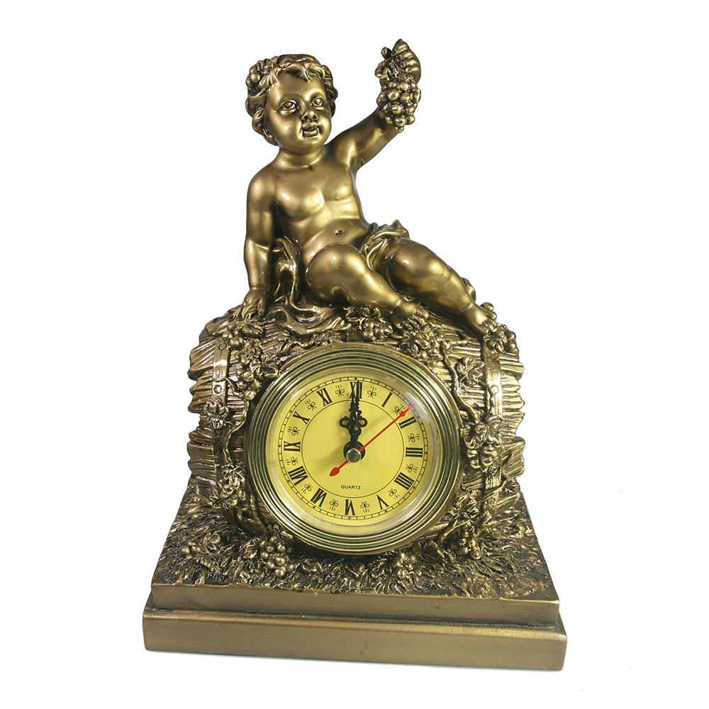 Композиция время Винная бочка (золото) оптом