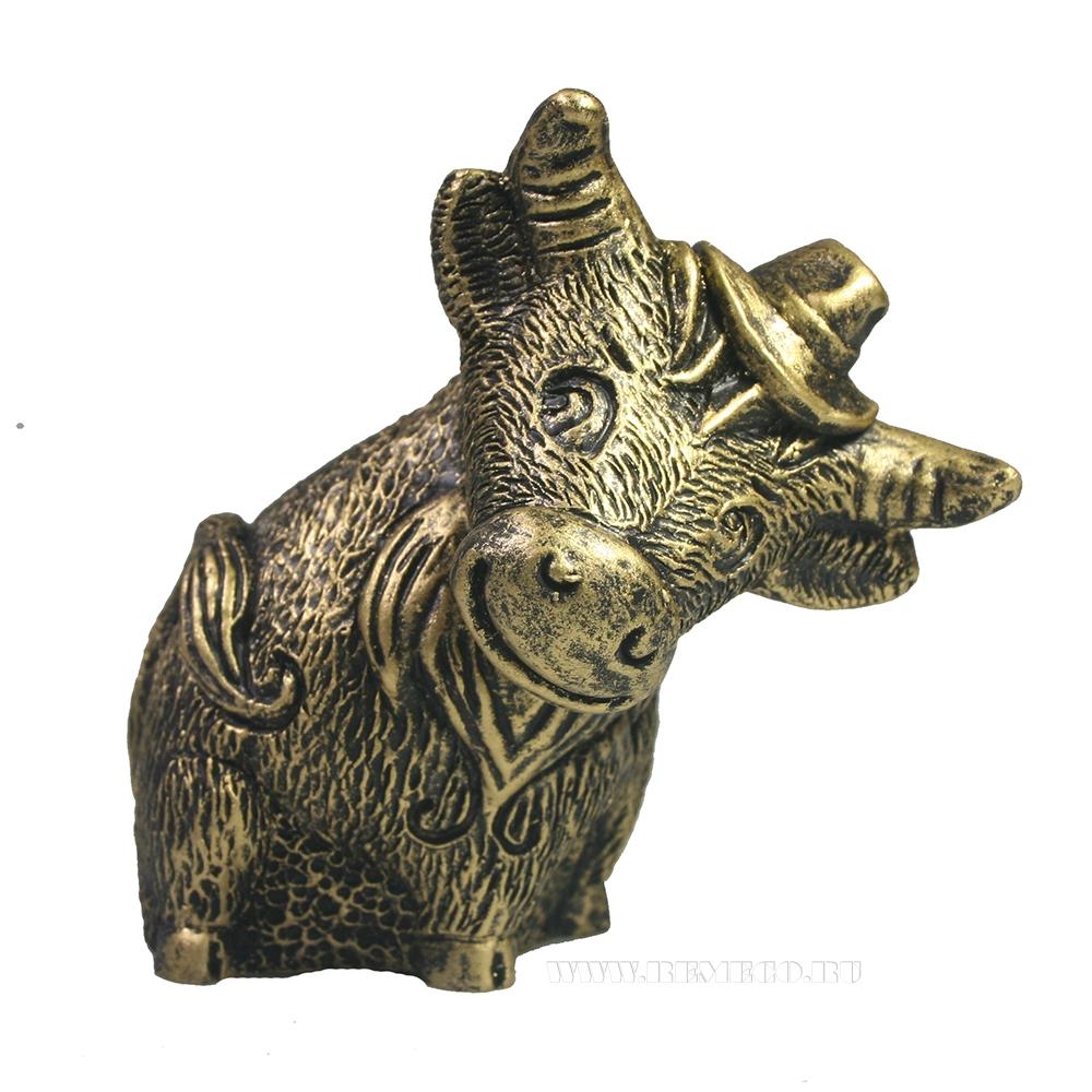Фигура декоративная Бу Ян (бронза) L10W6H9 оптом