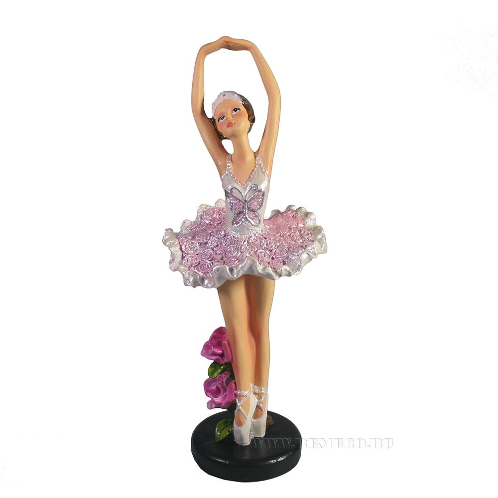 Фигура декоративная Балерина (акрил) оптом