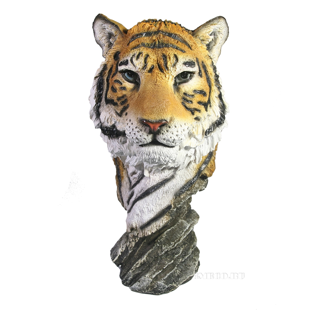 Фигура декоративная Бюст Тигр (акрил) H27.5 оптом
