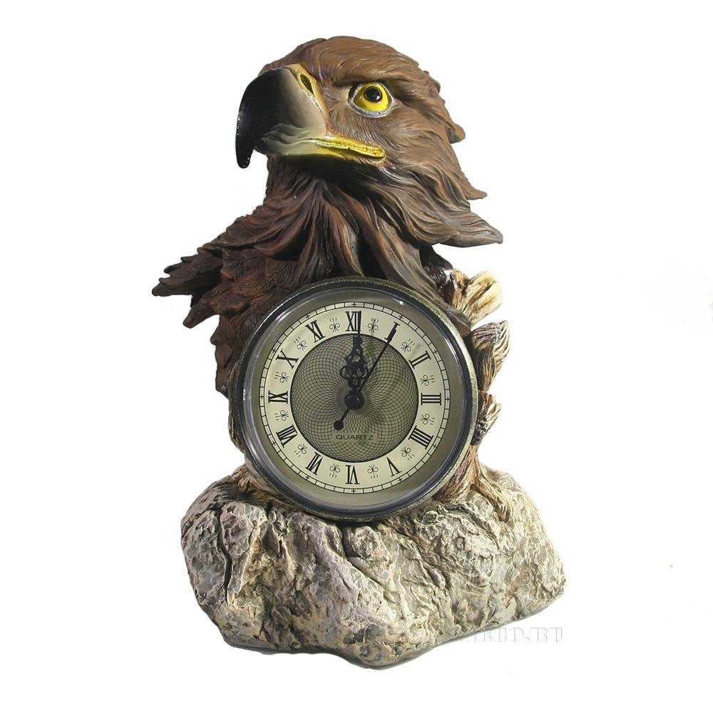 Композиция время Голова орла (акрил) L22W15H29 оптом