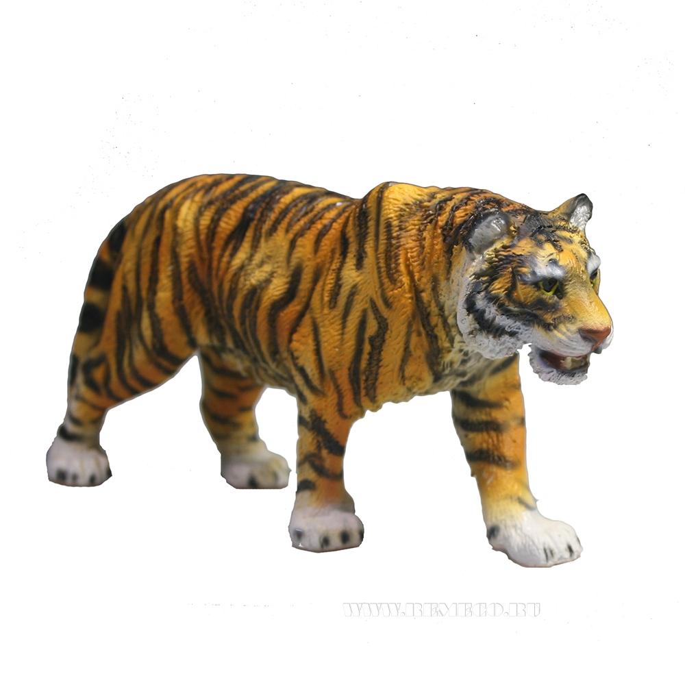 Фигура декоративная Тигр Бенгальский L12W3H5,5 оптом