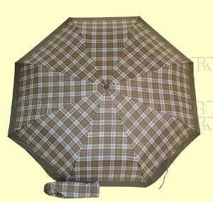 Зонт 23 цв.клетка, полный автомат, Зеленая клетка (крупная) оптом