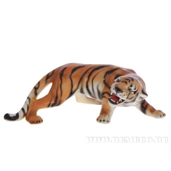 Фигурка декоративная Тигр, 14х39 см оптом