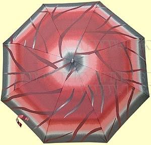 Зонт 23 цв., полный автомат, (розовый с бордо) оптом