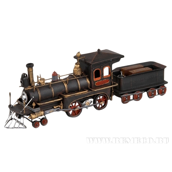 Американский паровоз, 1829 г., L52 W11 H165 cм оптом