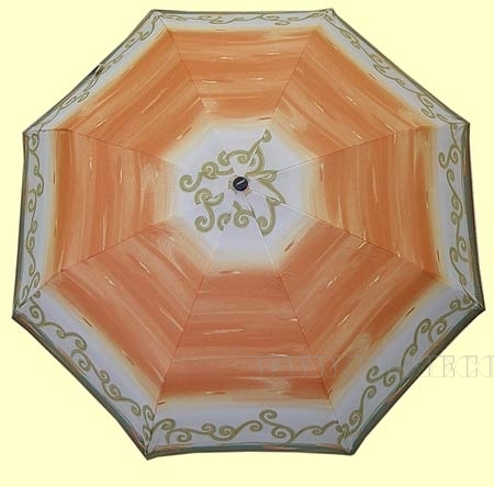 Зонт 23, полный автомат (Оранжевое настроение) оптом
