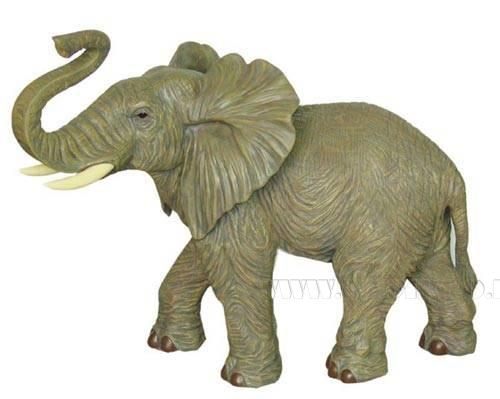 Фигурка декоративная Слон, L82 W52 H103 см оптом