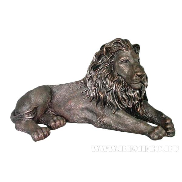 Фигурка декоративная Лев, 67х36х32 см оптом