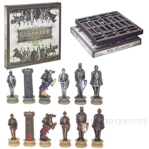 Шахматные фигуры Средневековые рыцари, 9 см оптом