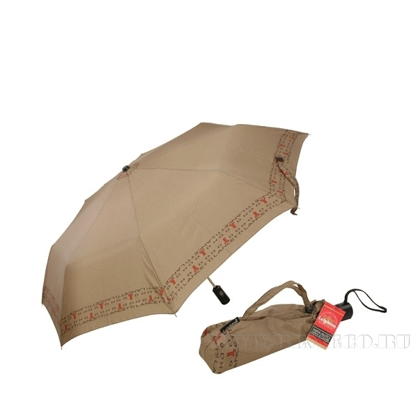 Зонт 23, полный автомат (Бежевый) оптом