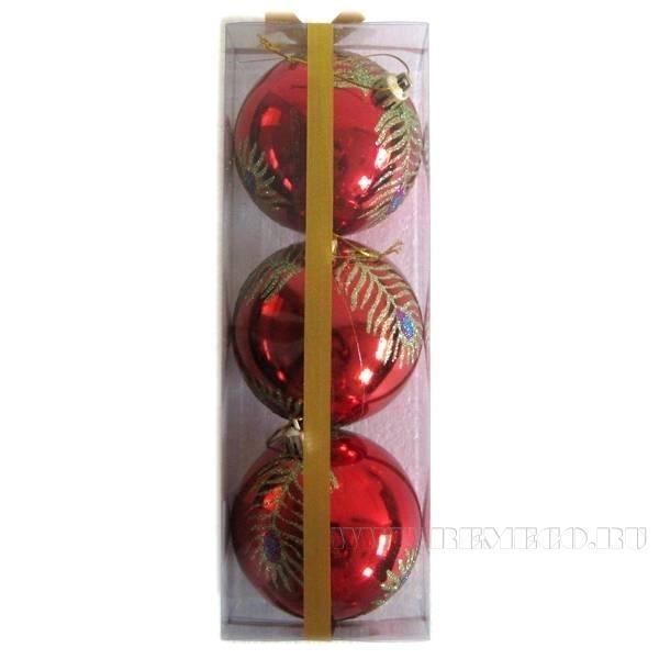 Набор из 3-х шаров, D 80 мм оптом