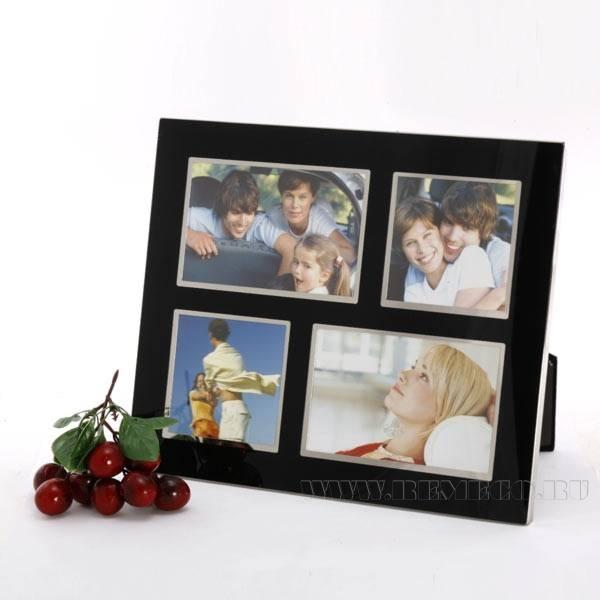 Фоторамка для 4 фотографий (10x15 см (2), 10x10 см (2)), H 32 см оптом