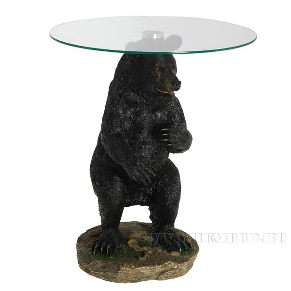 Стол Медведь, 47х47х58 см (2 части) оптом