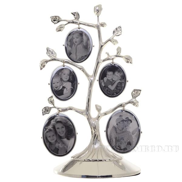 Набор из 5 фоторамок Дерево (5х8 см), H 19 см оптом