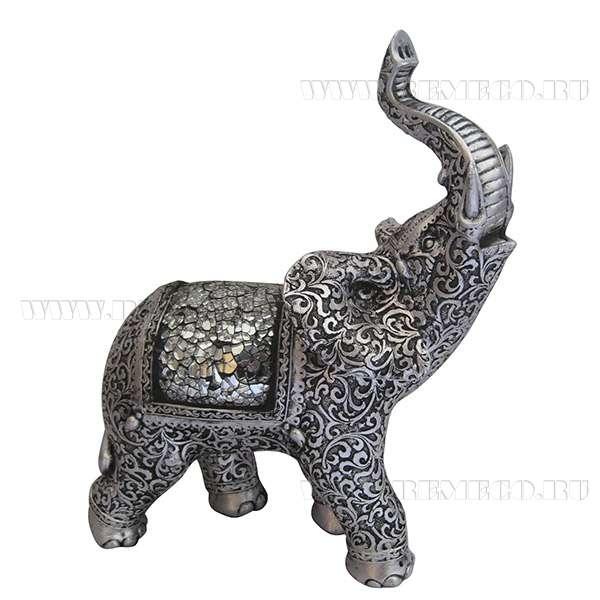 Фигурка декоративная Слон, H27,2 см оптом