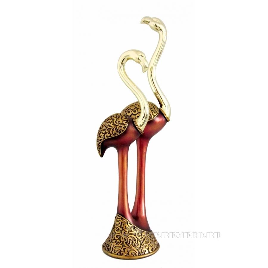 Фигурка декоративная Фламинго, H40,5 см оптом