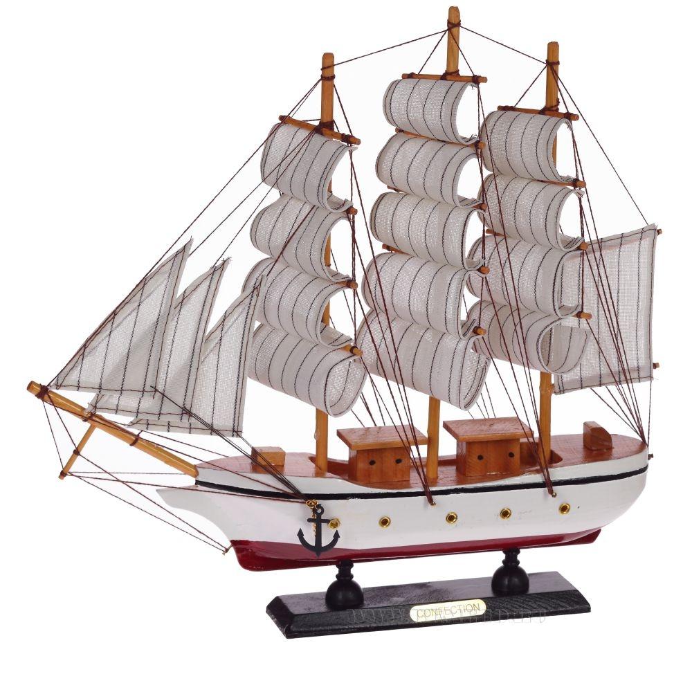 Корабль Сonfection,  L33W6,5H33см оптом