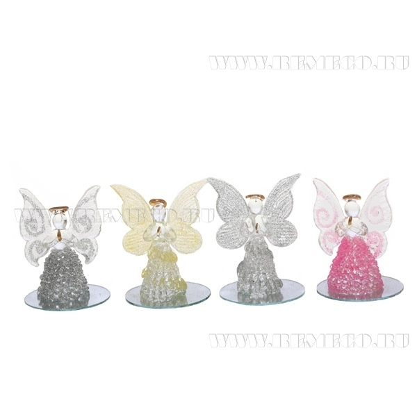 Фигурка декоративная Ангел, H 10 см, 3 в. оптом